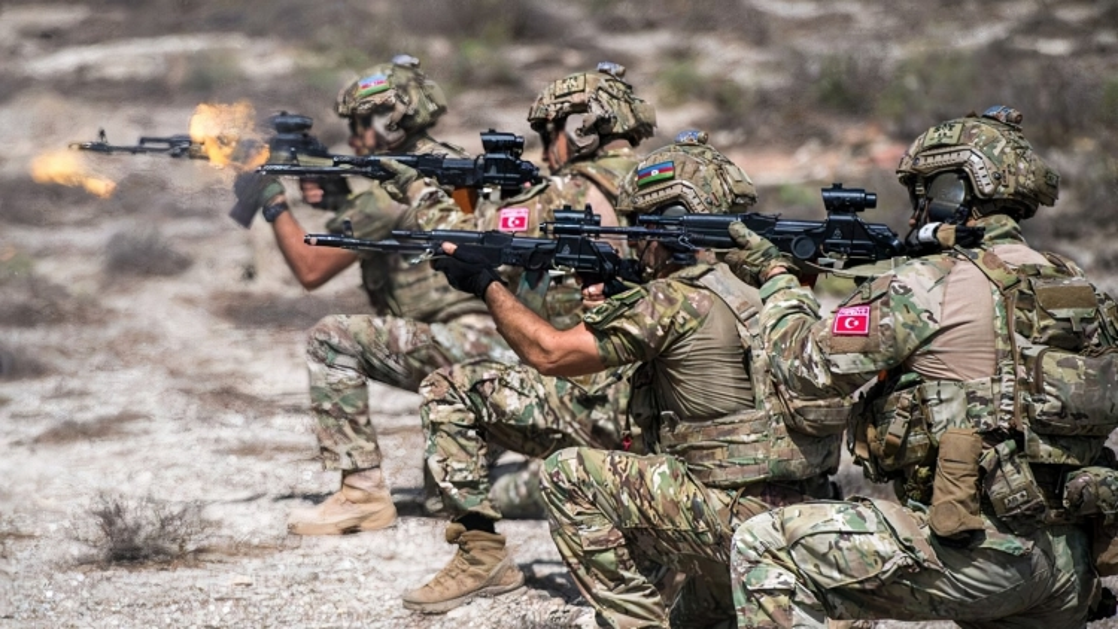 Azerbaijan, Thổ Nhĩ Kỳ và Pakistan lần đầu diễn tập quân sự chung