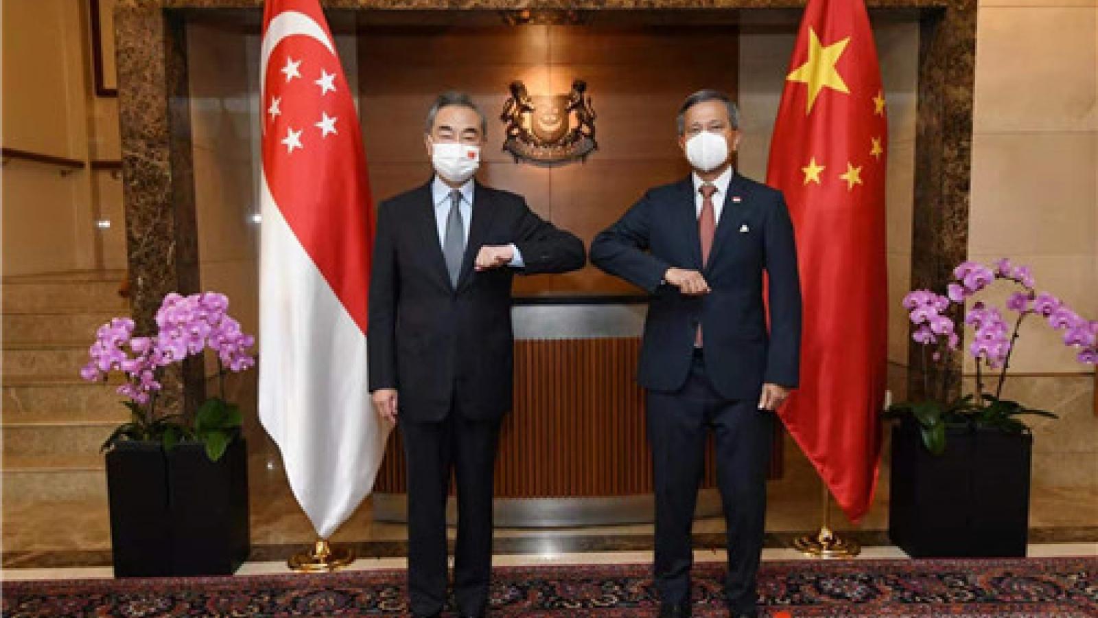 Ông Vương Nghị kêu gọi Mỹ có thái độ khách quan đối với sự phát triển của Trung Quốc
