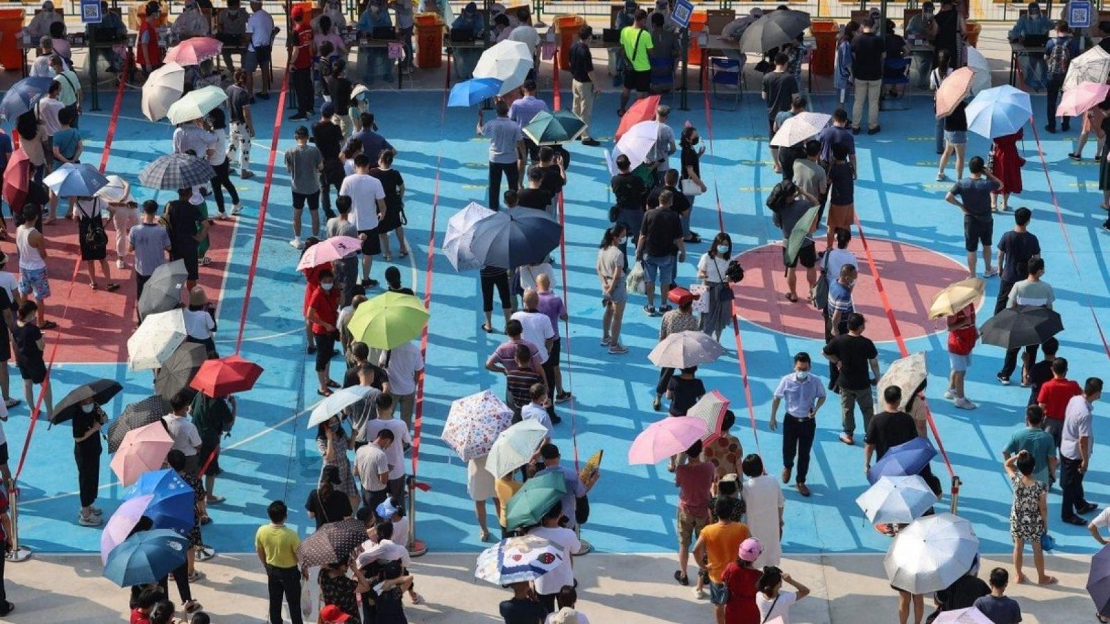 Trung Quốc ghi nhận số ca mắc Covid-19 trong ngày cao nhất trong đợt dịch ở Phúc Kiến