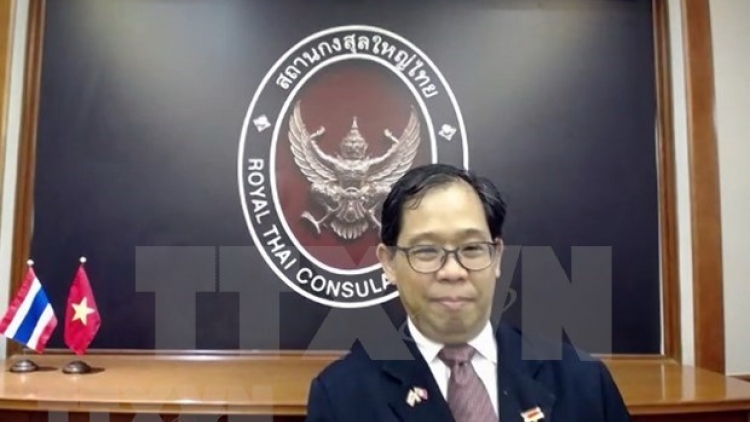 Thai diplomat honoured for contribution to Vietnam-Thailand relations