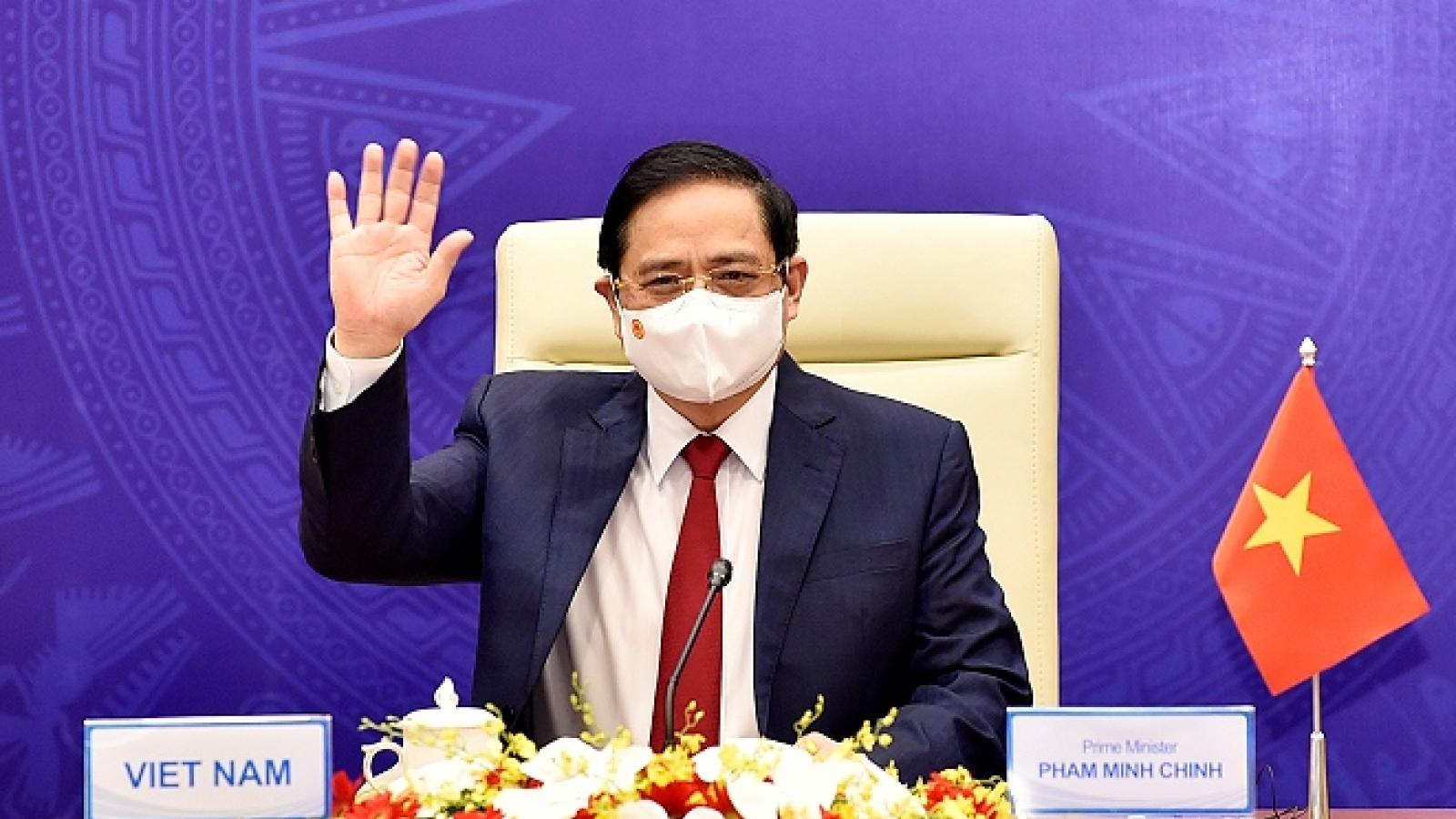Hôm nay, Thủ tướng tham dự Hội nghị Thượng đỉnh Hợp tác Tiểu vùng Mekong mở rộng