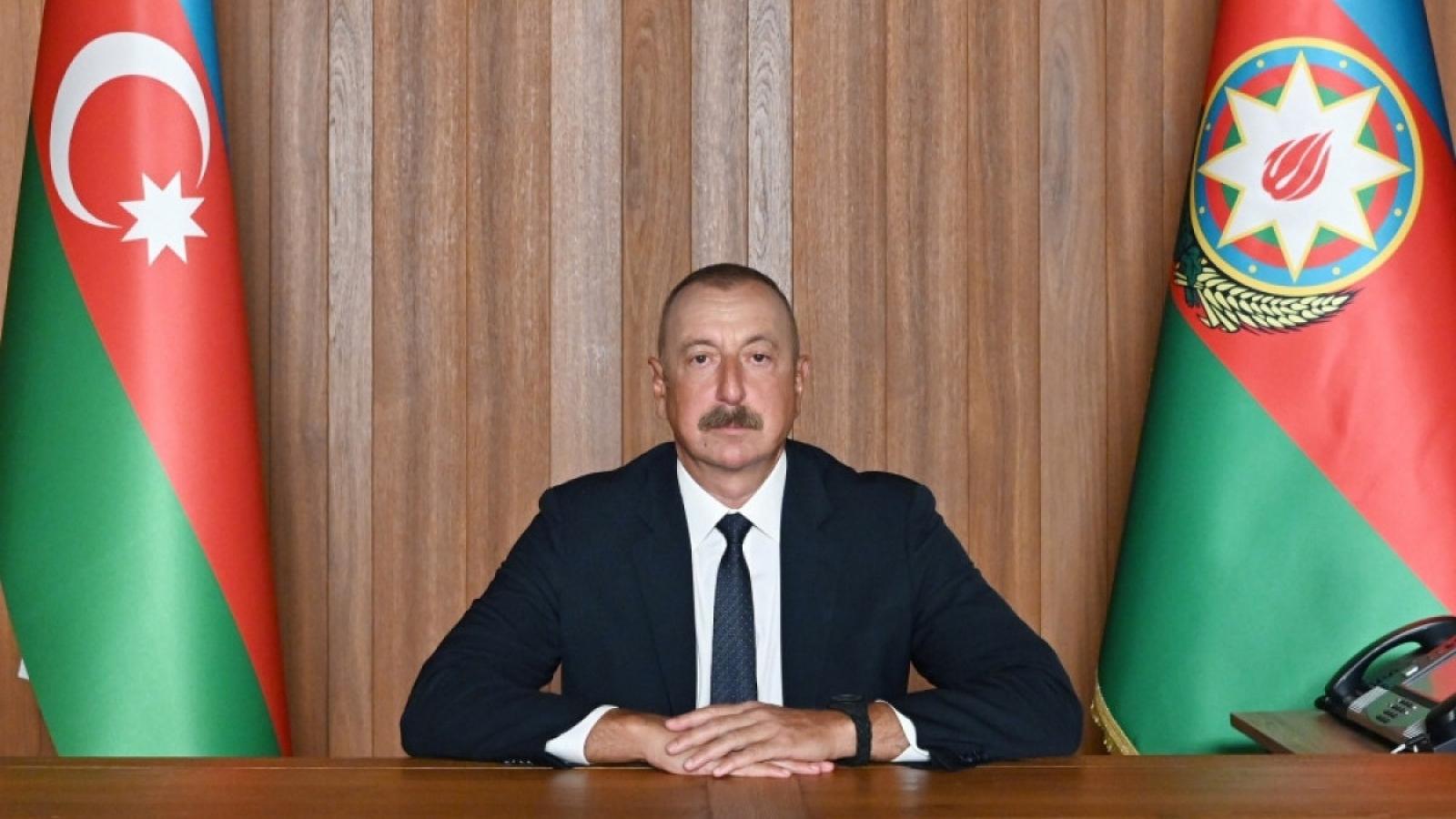 """Azerbaijan muốn xóa sổ địa danh """"Nagorno-Karabakh"""" sau thắng lợi quân sự tại đây?"""