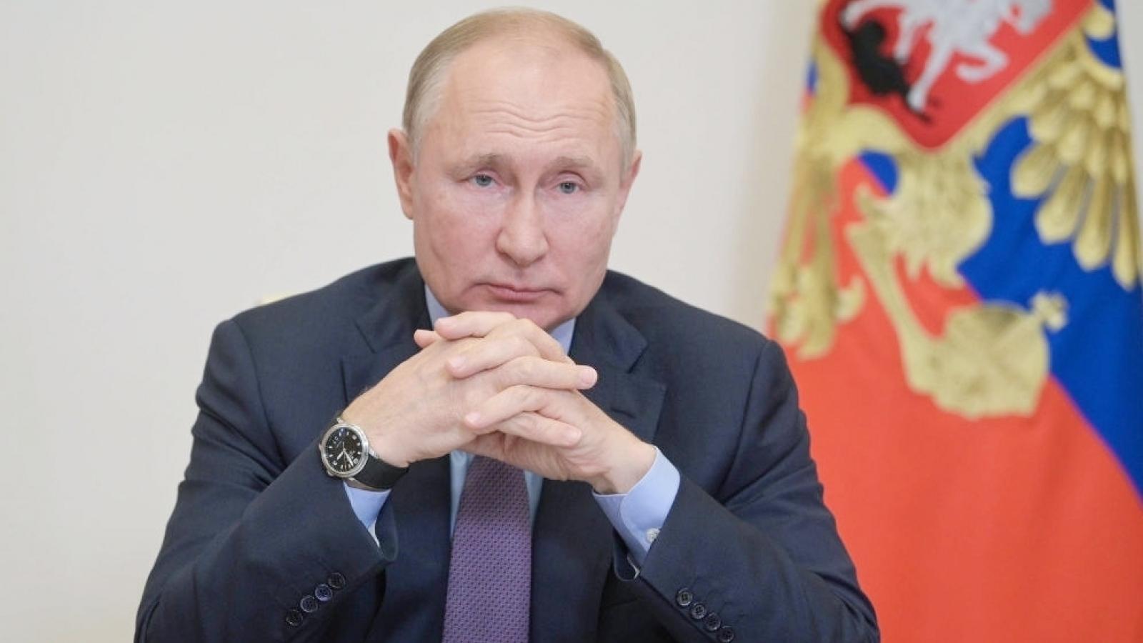 Tổng thống Nga V.Putin kêu gọi người dân đi bầu đại biểu Duma Quốc gia