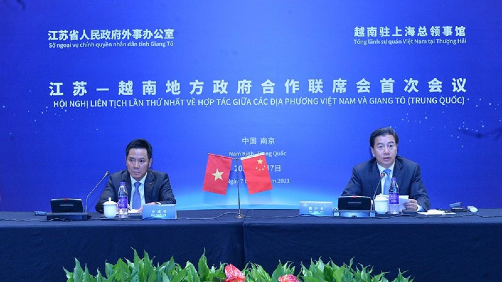 Vietnamese localities, Jiangsu (China) ramp up all-round cooperation