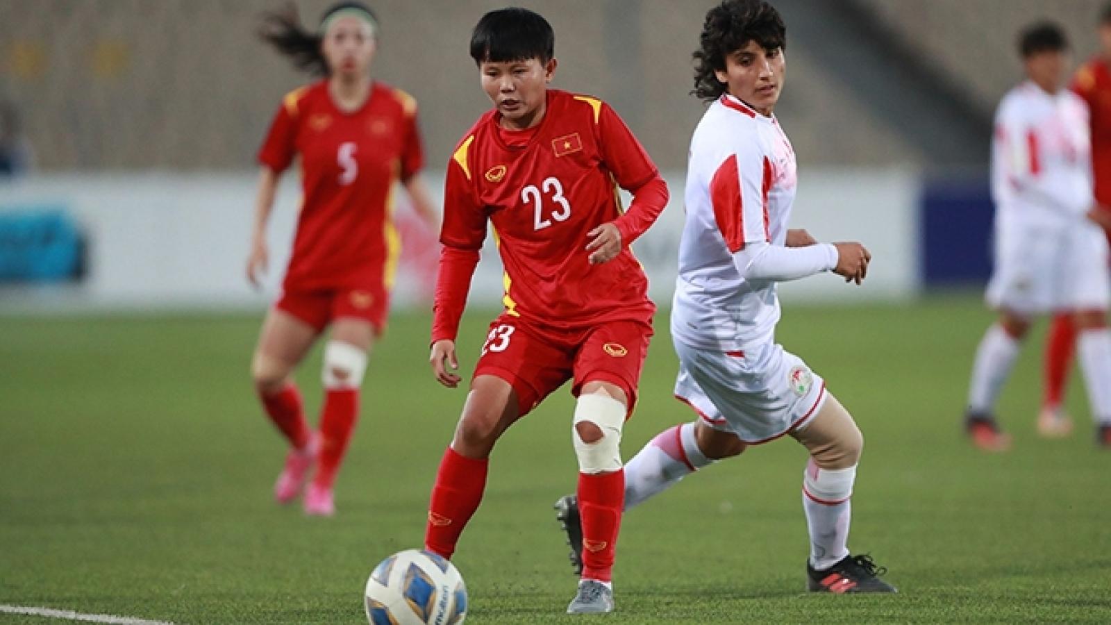Vietnam cruise into AFC Women's Asian Cup 2022 finals