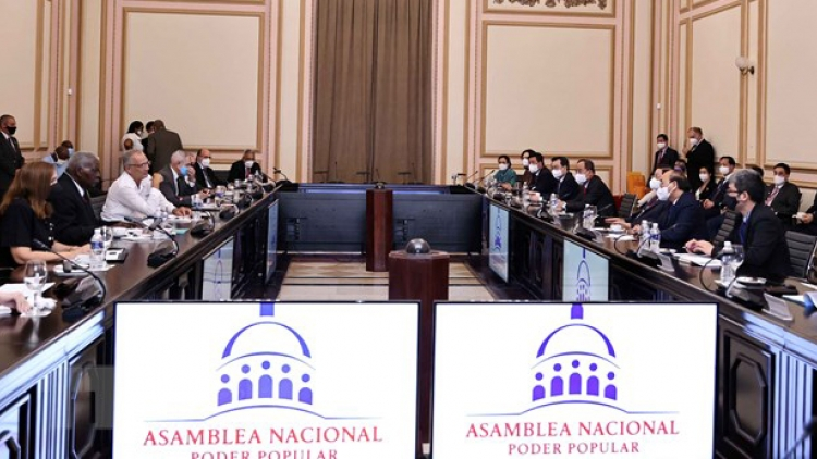 President pushes for stronger Vietnam-Cuba parliamentary ties