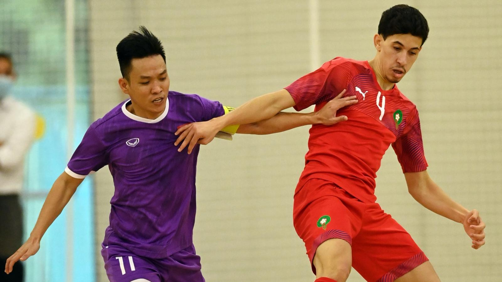 Đội trưởng Trần Văn Vũ: ĐT Futsal Việt Nam đã sẵn sàng đối đầu Brazil