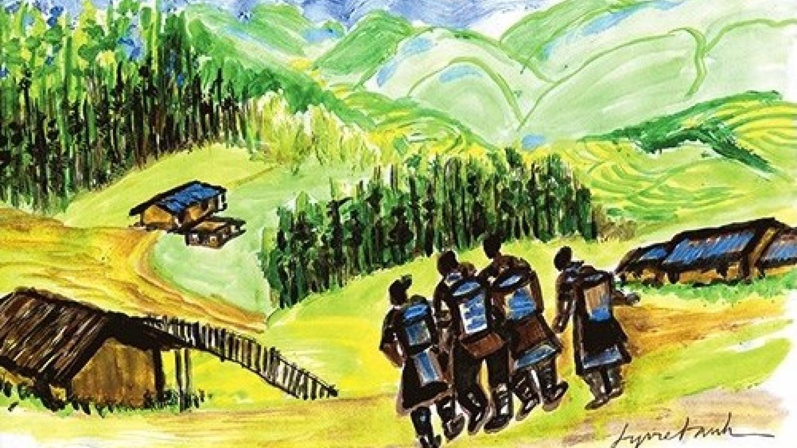 """Truyện ngắn """"Đứa con của núi"""": Tình mẫu tử thiêng liêng"""