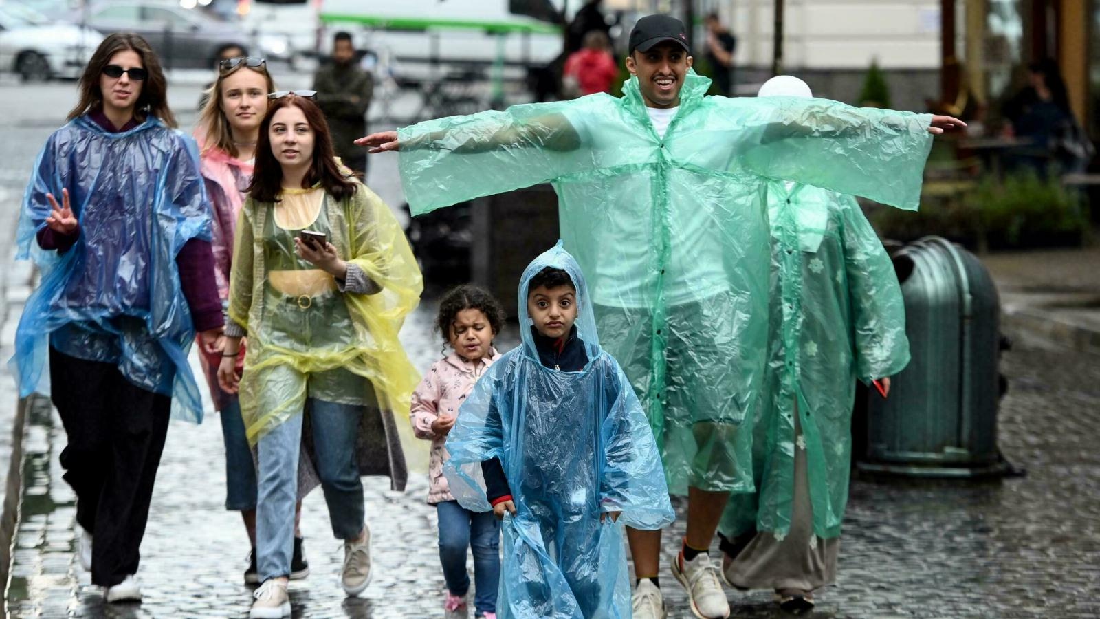 Điểm đến hấp dẫn du khách vì.... mưa nhiều