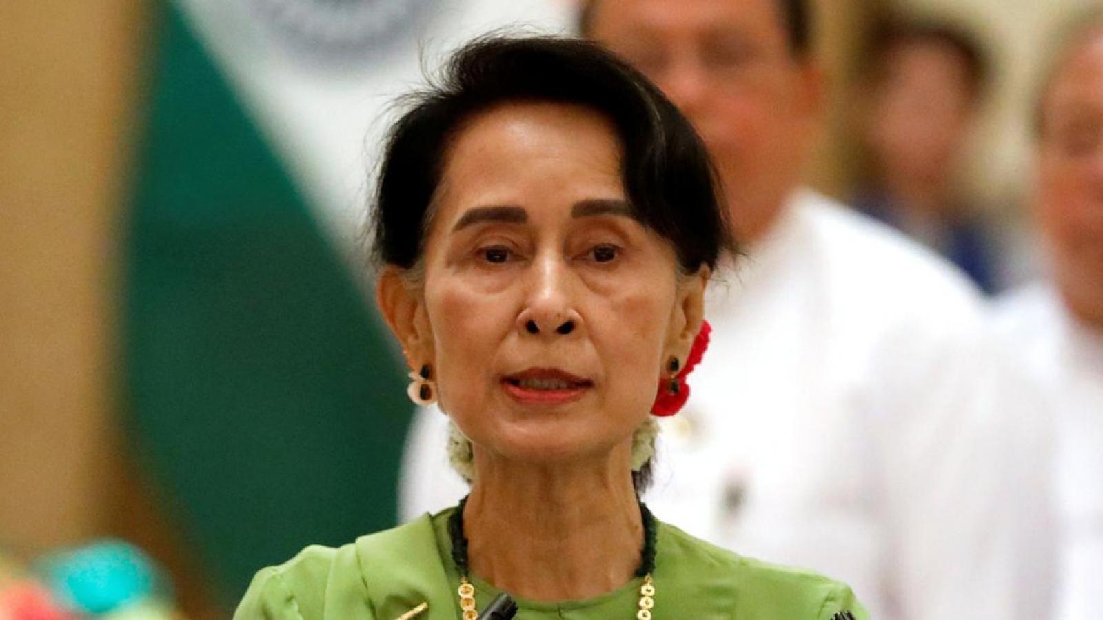 Myanmar mở lại phiên tòa xét xử Cố vấn nhà nước Aung San Suu Kyi