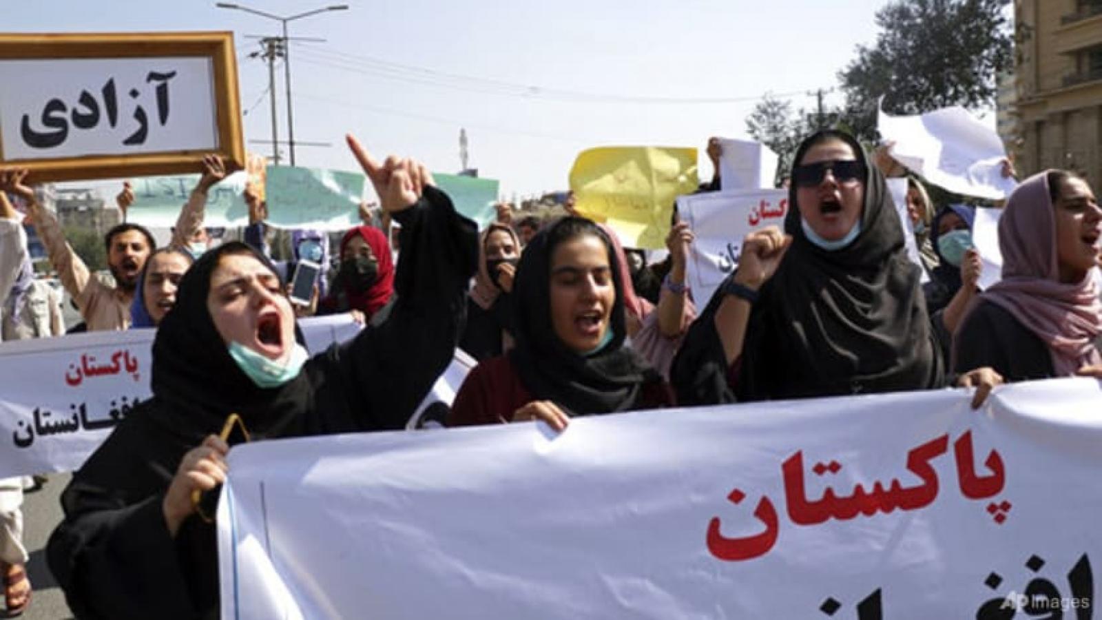 Biểu tình ở Afghanistan - Thách thức dành cho chính phủ mới của Taliban