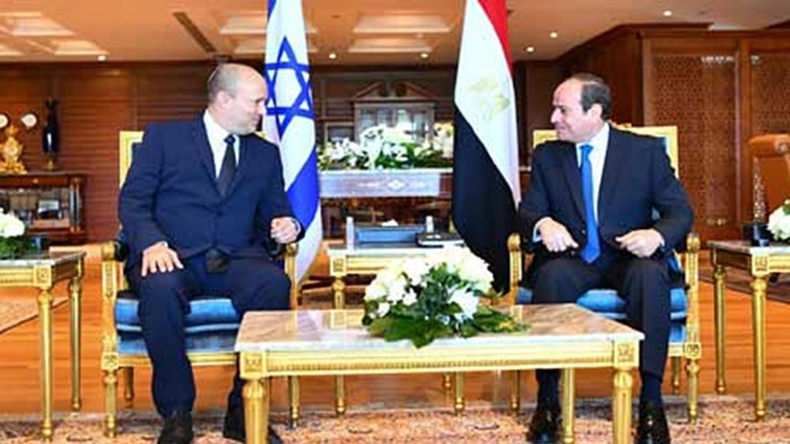 Ai Cập và Israel quan hệ nồng ấm, Ai Cập ủng hộ giải pháp 2 nhà nước