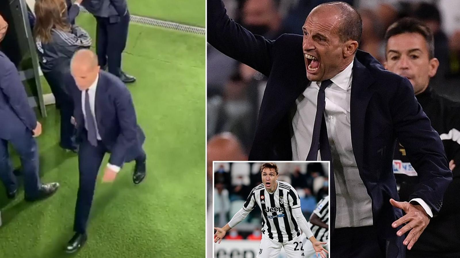 Juventus khủng hoảng, HLV Max Allegri chửi rủa các cầu thủ