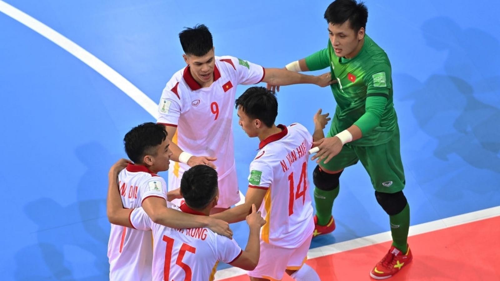 Thắng kịch tính Panama, ĐT Futsal Việt Nam nuôi hy vọng đi tiếp ở World Cup