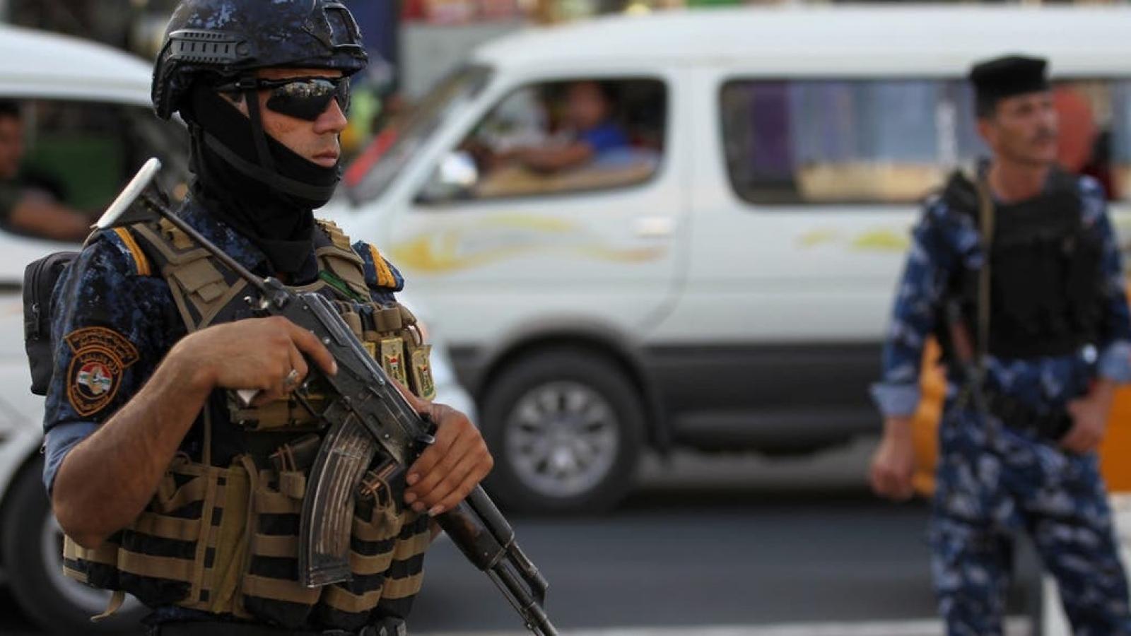Liên tiếp các vụ tấn công nhằm vào lực lượng an ninh Iraq và liên quân quốc tế