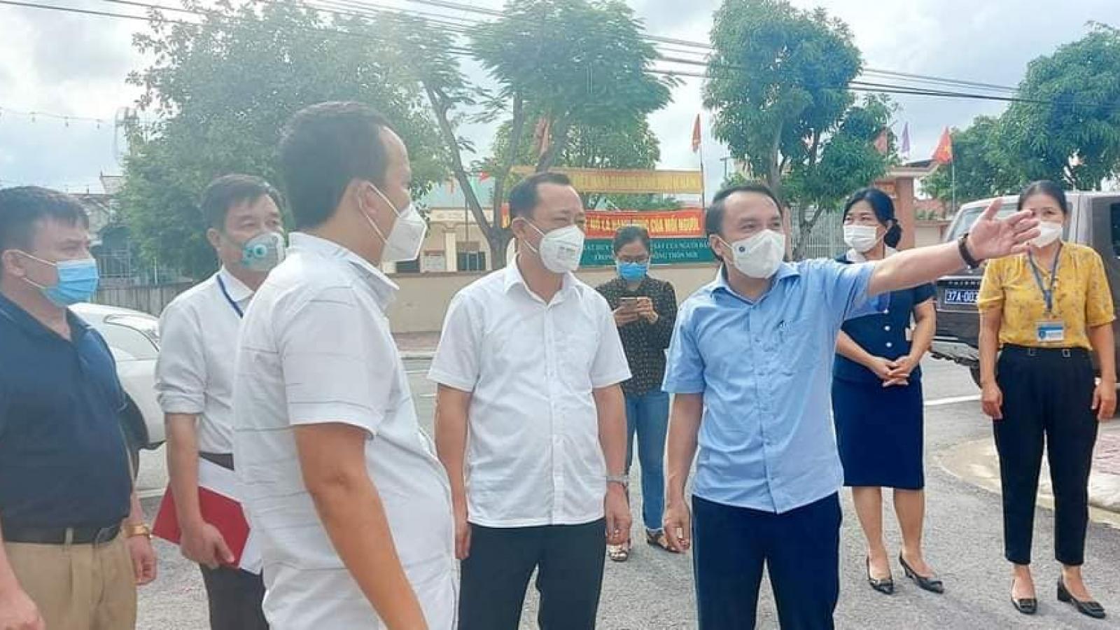 Thành phố Vinh có thêm 4 trường hợp dương tính với SARS-CoV-2