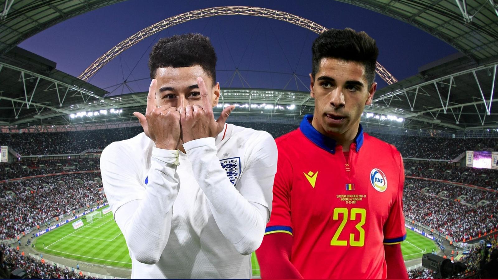 Dự đoán tỷ số, đội hình xuất phát trận Anh - Andorra