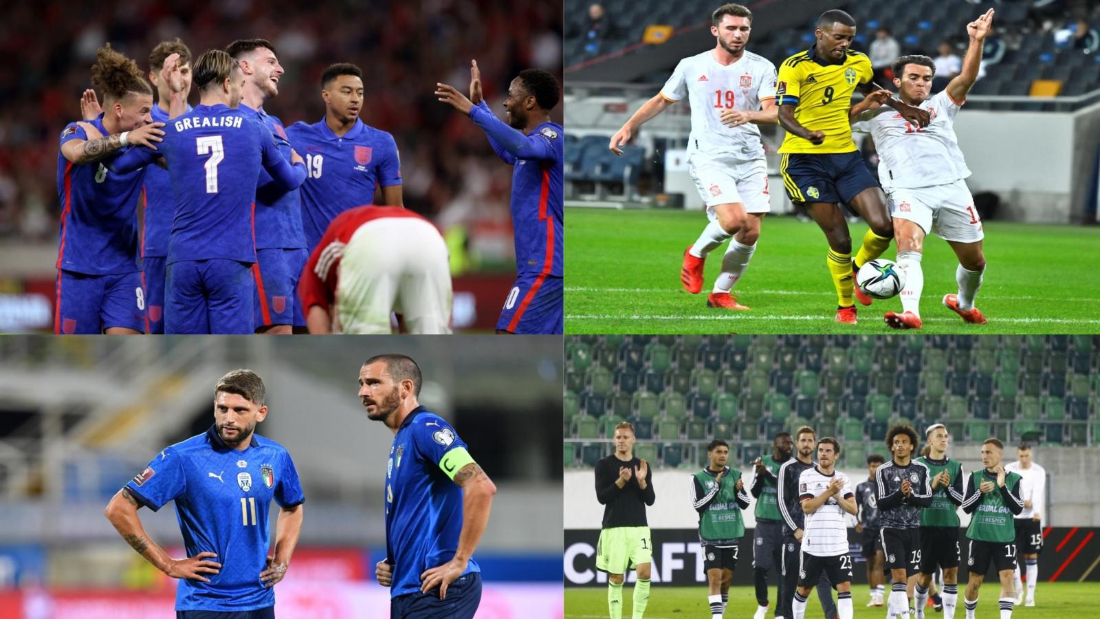Kết quả vòng loại World Cup 2022 khu vực châu Âu (3/9): Thất vọng Italia