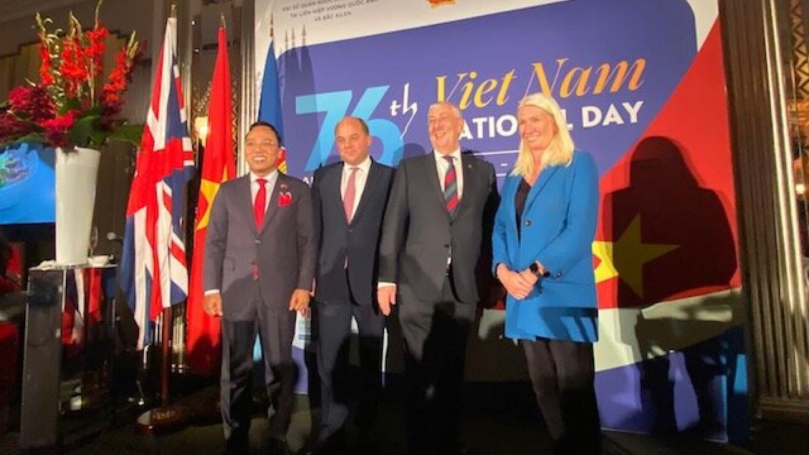 Nhiều quan chức cấp cao Anh dự kỷ niệm Quốc khánh Việt Nam lần thứ 76 tại London