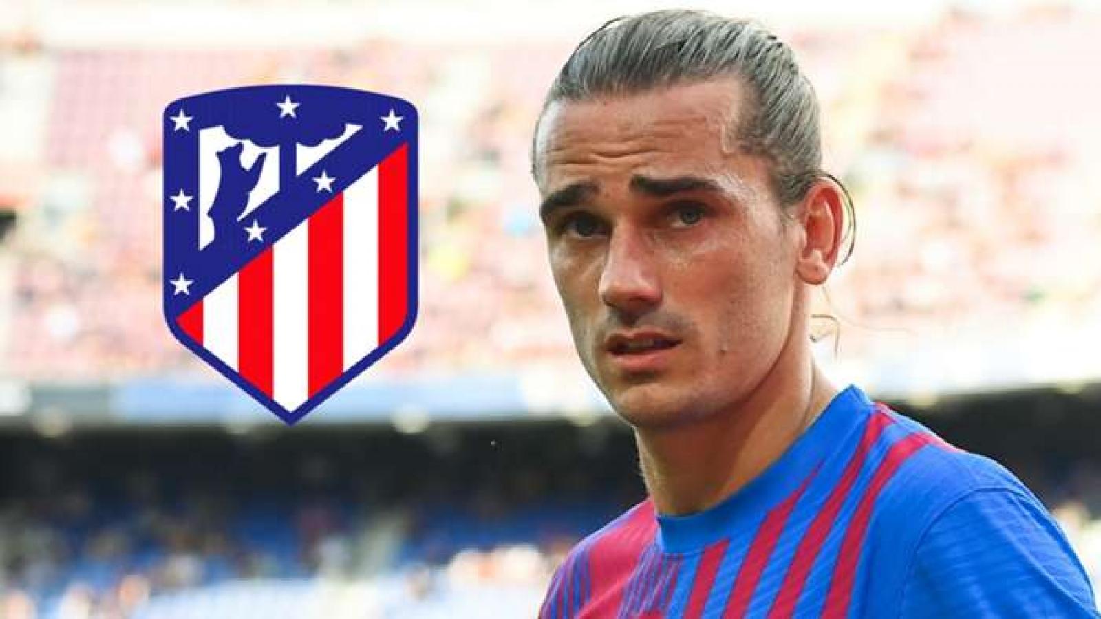 Griezmann rời Barca trở lại khoác áo Atletico Madrid