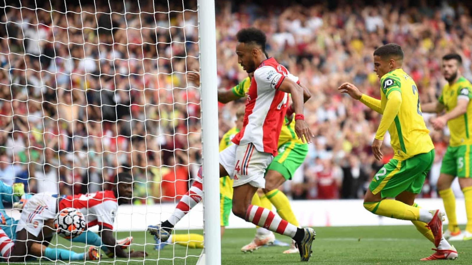 Thắng Norwich, Arsenal thoát khỏi đáy BXH Ngoại hạng Anh