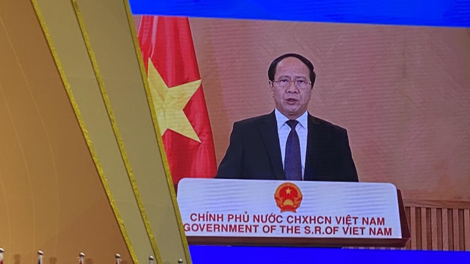 Phó Thủ tướng Lê Văn Thành dự Khai mạc Hội chợ ASEAN - Trung Quốclần thứ 18