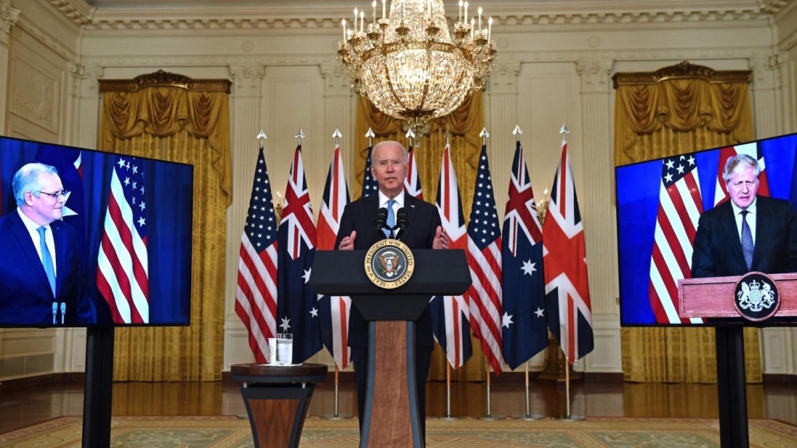 Việt Nam nói gì về việc Australia, Anh và Mỹ lập liên minh AUKUS?