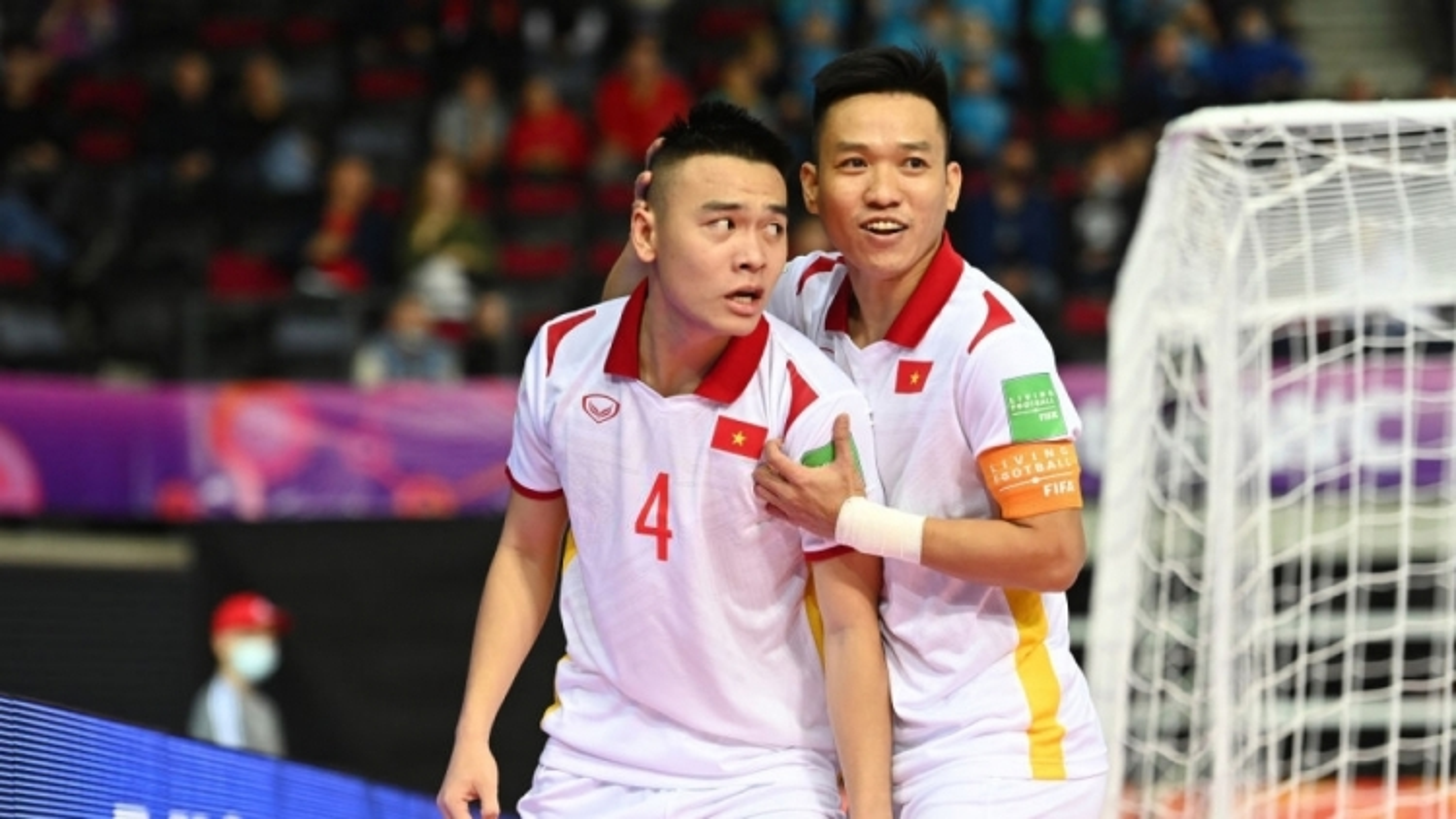 Vietnam secure dramatic 3-2 win over Panama at 2021 FIFA Futsal World Cup