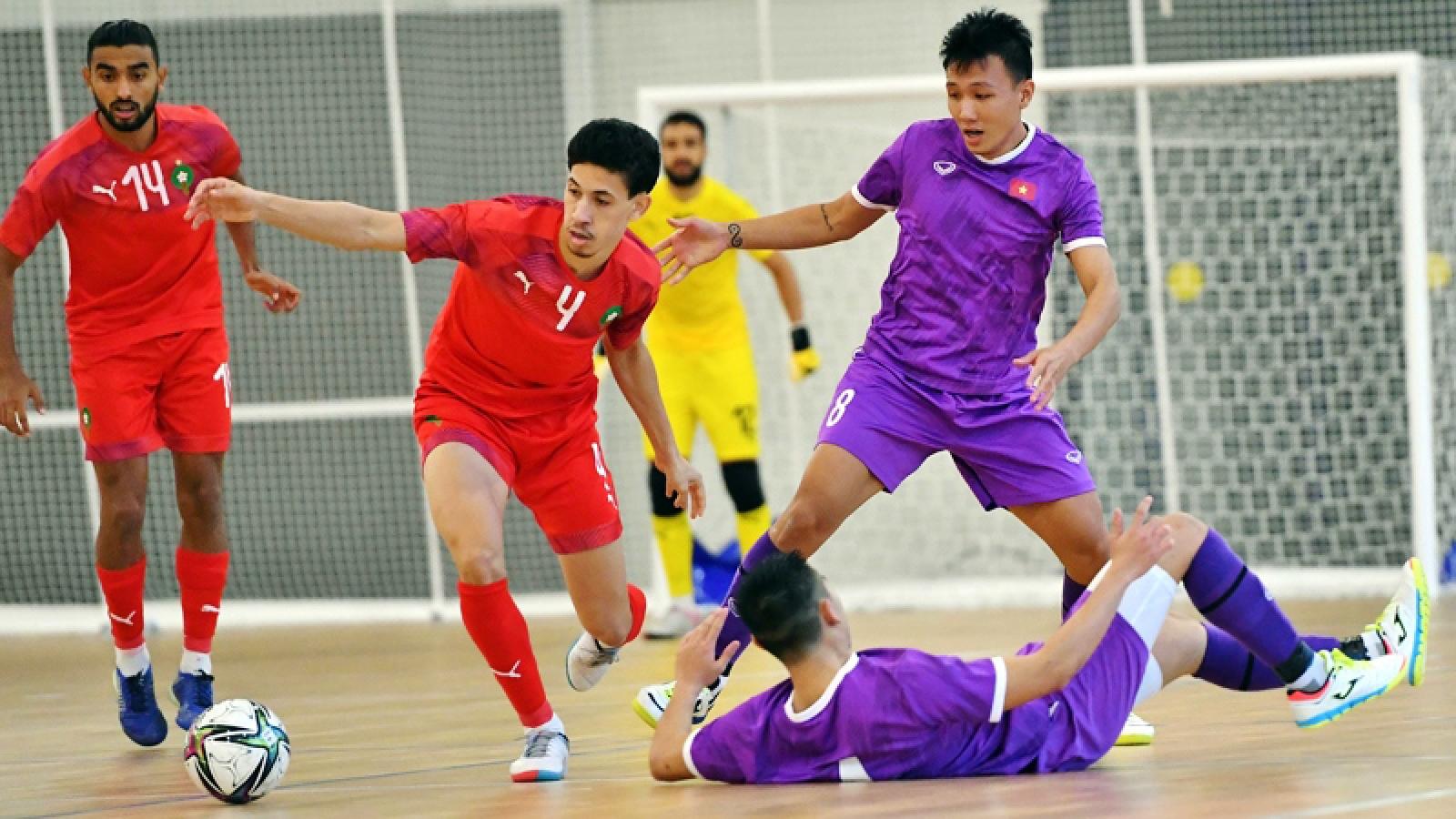 Vietnam announces 16-player squad for 2021 Futsal World Cup finals