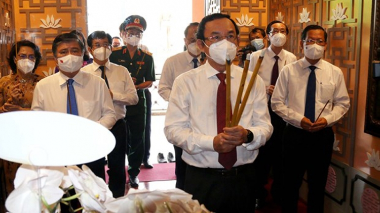 HCM City leaders commemorate President Ho Chi Minh on National Day