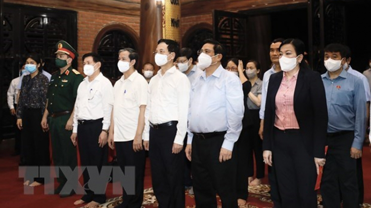 Prime Minister pays working trip to Thai Nguyen