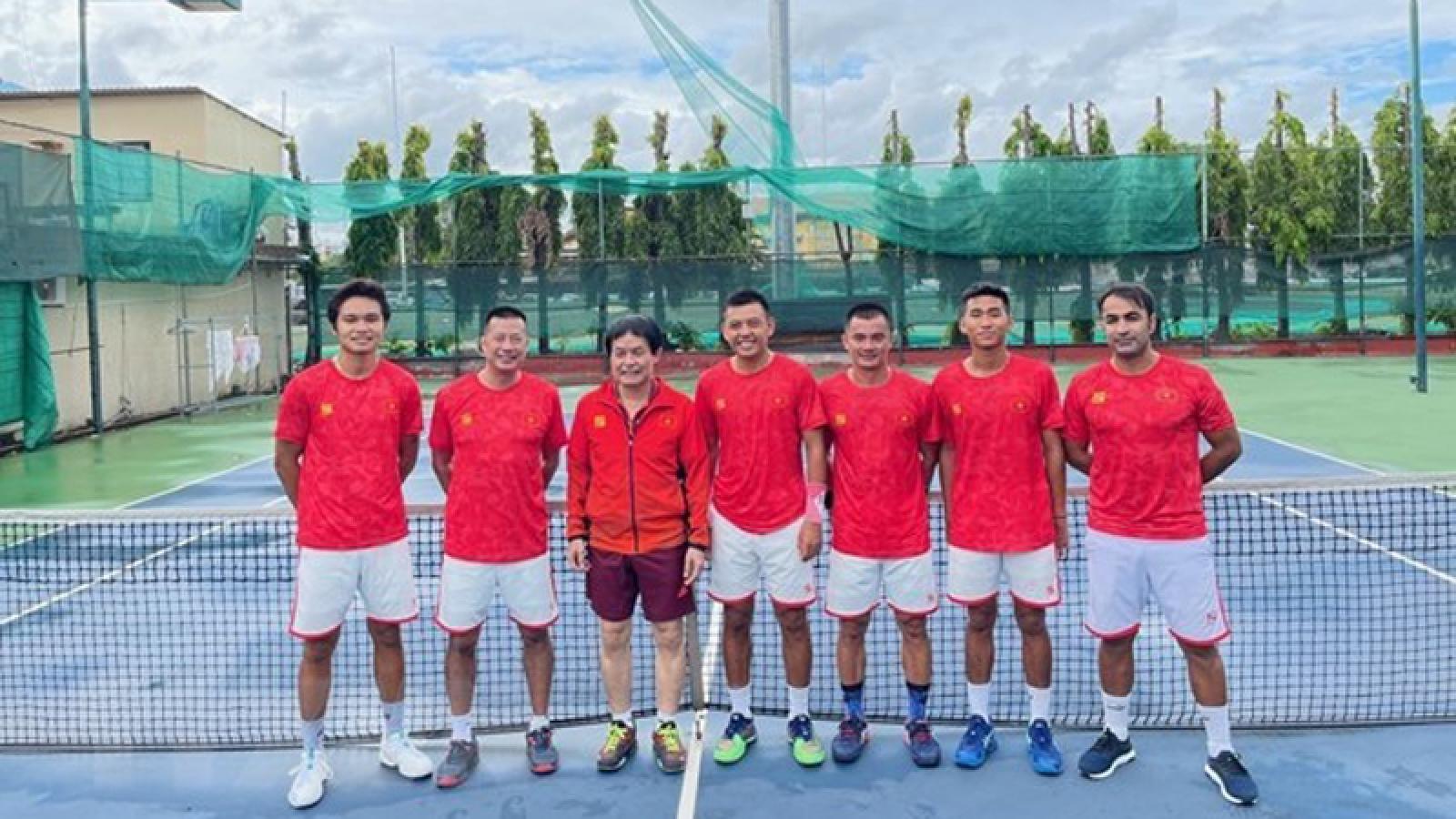 Vietnam win berth for 2022 Davis Cup World Group II playoffs