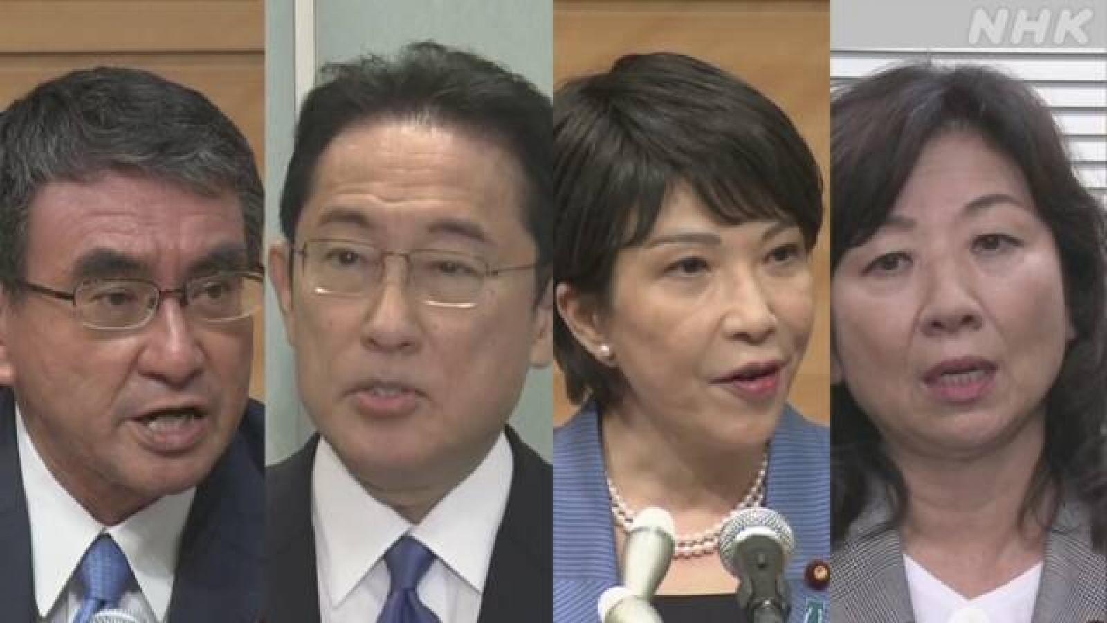 Ưu, nhược điểm của các ứng cử viên Thủ tướng Nhật Bản