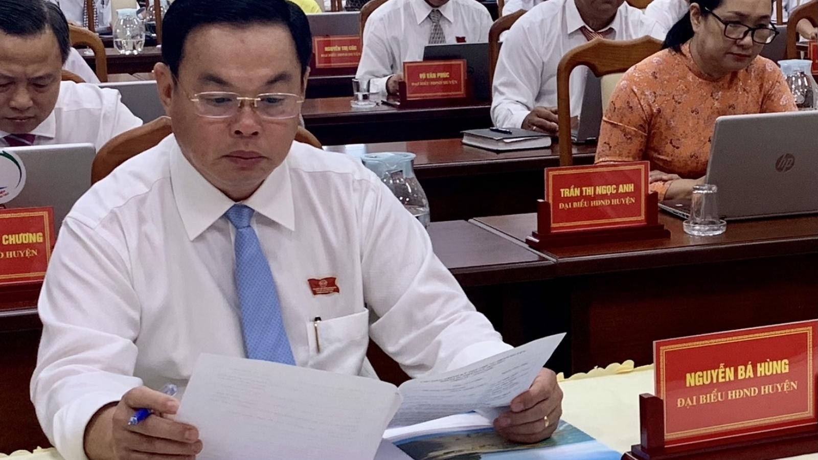 Chủ tịch UBND huyện Long Điền vẫn chưa rút đơn xin nghỉ việc