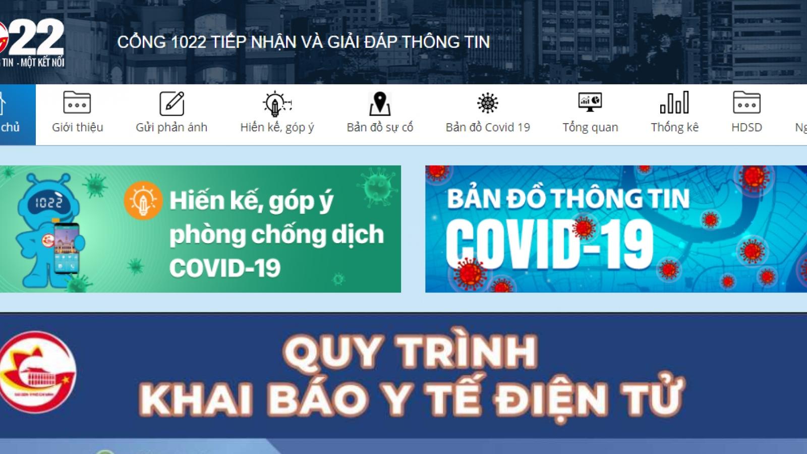 TP.HCM ra mắt kênh tư vấn chăm sóc sức khỏe theo chuyên khoa qua tổng đài 1022