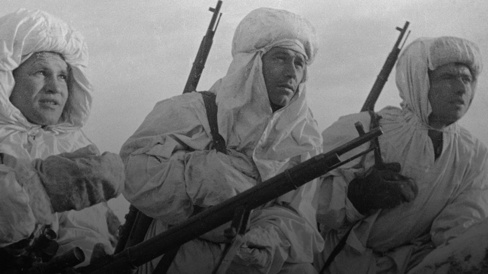 5 xạ thủ bắn tỉa của Hồng quân Liên Xô bắn gục gần 3.000 lính địch trong Thế chiến II