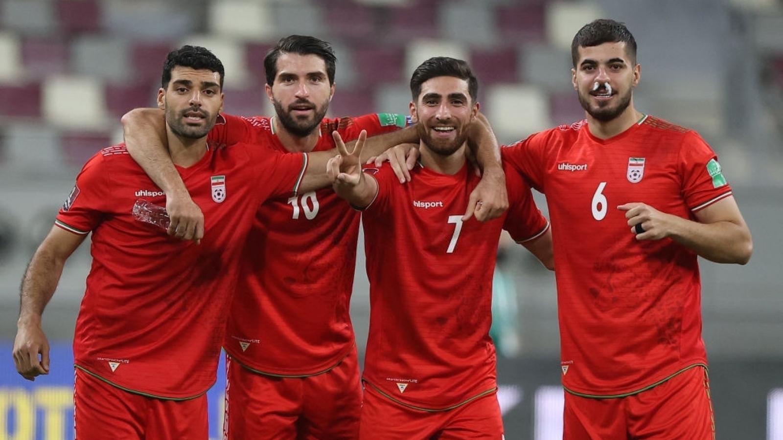Xếp hạng bảng A vòng loại World Cup 2022: Iran phô diễn sức mạnh