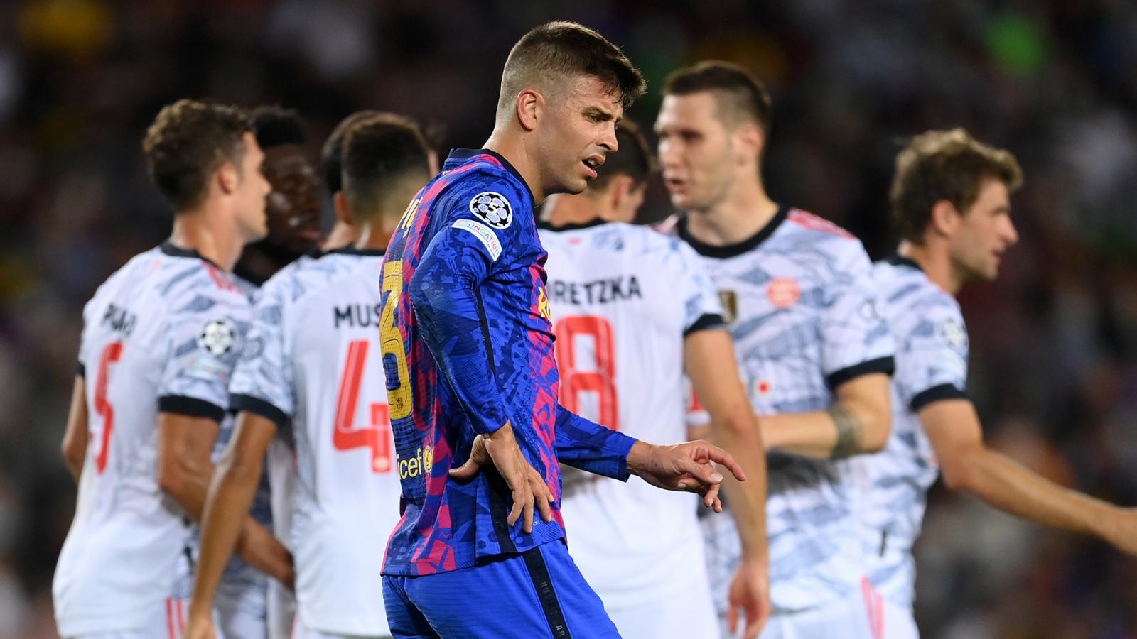 Barca bây giờ chỉ giống một đội bóng nhỏ ở Champions League