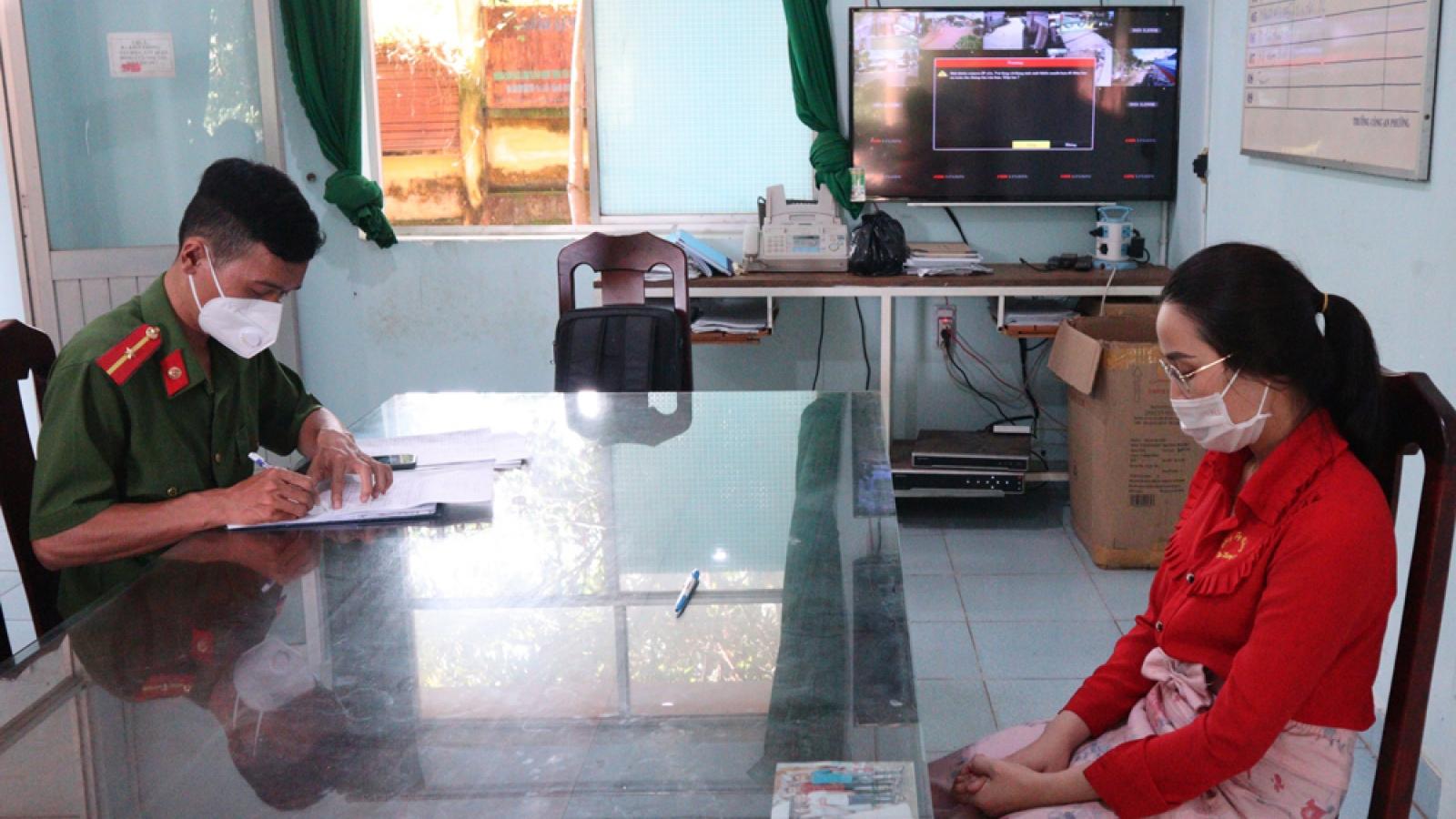 Trộm hàng nghìn chiếc nhẫn vàng, nhân viên tiệm vàng ở Bình Phước bị bắt
