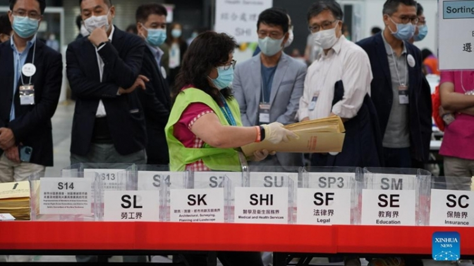 Hong Kong (Trung Quốc) công bố kết quả bầucử Ủy ban bầu cử Chính quyền Đặc khu