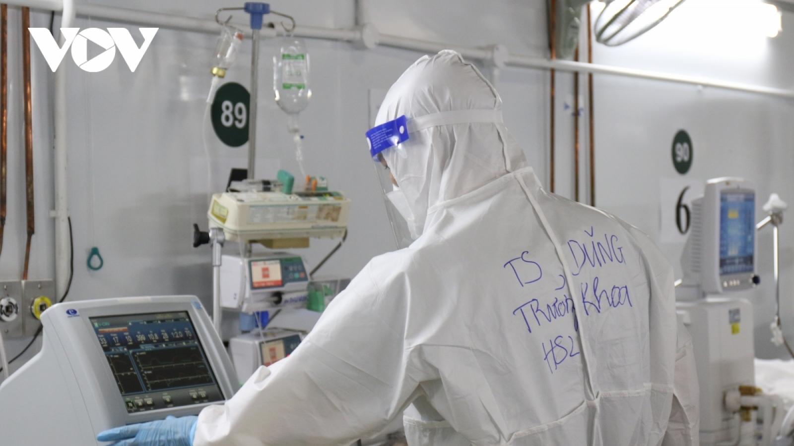 Tín hiệu mừng ở nơi điều trị COVID-19 tại Bệnh viện 115 TP.HCM