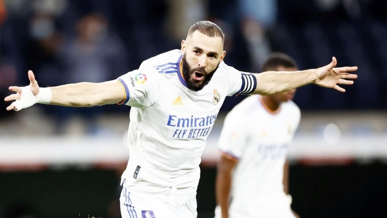 Benzema làm được điều chưa từng có ở La Liga trong thế kỷ 21