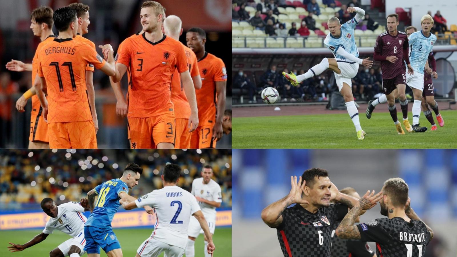 """Kết quả vòng loại World Cup 2022 khu vực châu Âu (5/9): Hà Lan giành chiến thắng """"bốn sao"""""""