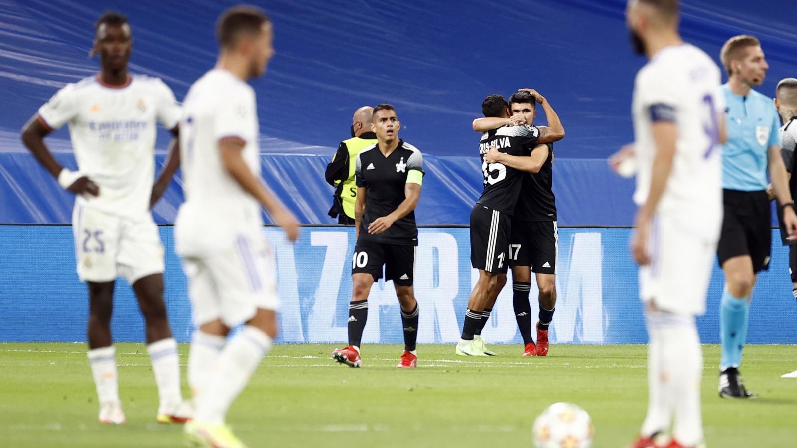Cầu thủ từng hạ U23 Việt Nam ghi bàn, Sheriff thắng sốc Real Madrid ở Champions League