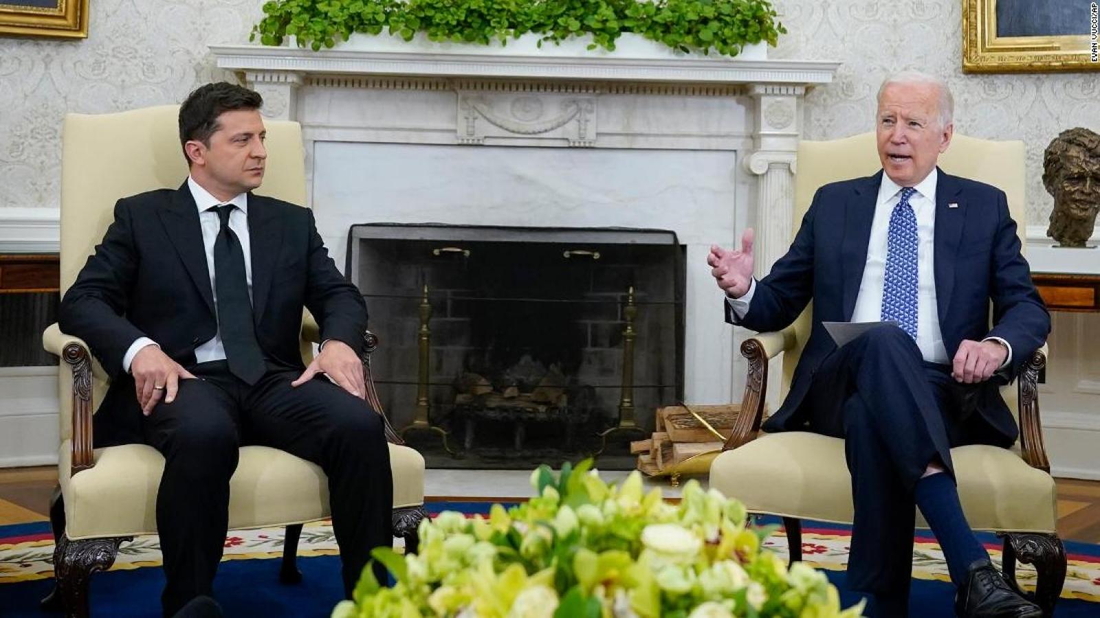 Mỹ hỗ trợ an ninh 60 triệu USD cho Ukraine để đối phó với Nga