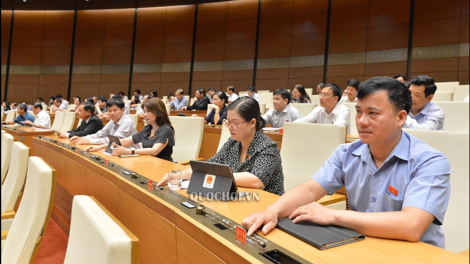 Phê chuẩn đại biểu Quốc hội chuyên trách khóa XV TP.Hà Nội và 3 tỉnh