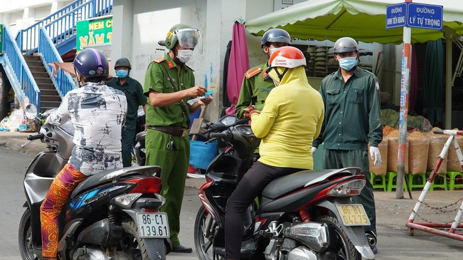 Bình Thuận cho thành phố Phan Thiết nới lỏng giãn cách