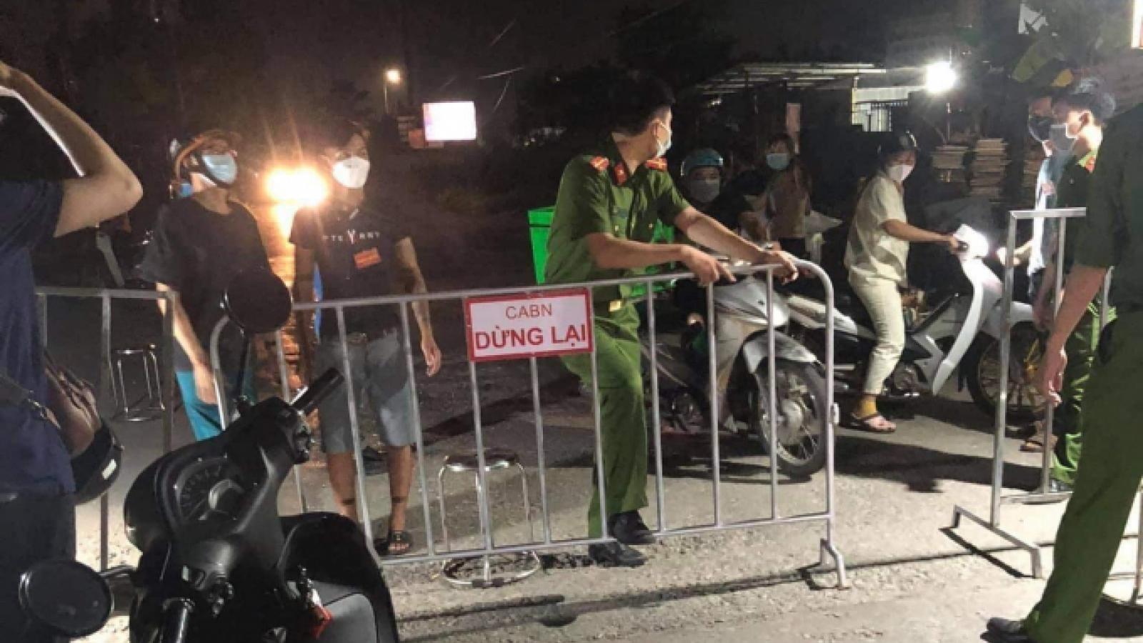 """Bắc Ninh kích hoạtTrung tâm chỉ huy phòng, chống dịch tại các """"điểm nóng"""""""
