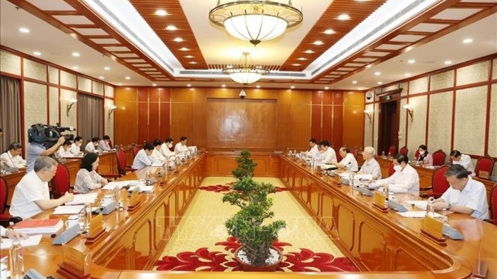 BCĐ Trung ương về phòng, chống tham nhũng có thêm chức năng chống tiêu cực