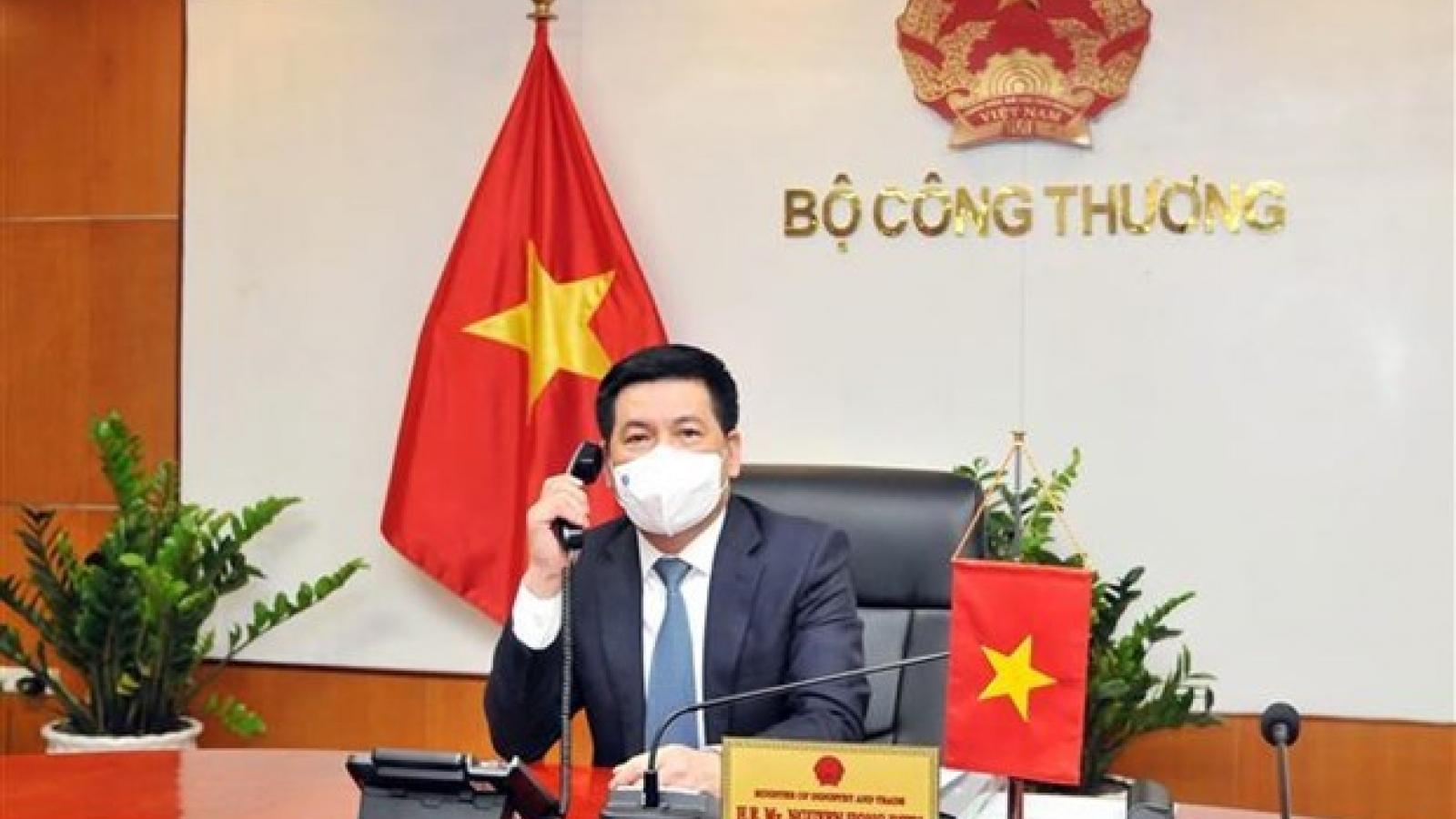 Vietnam, US ensure continuity of goods supply chain